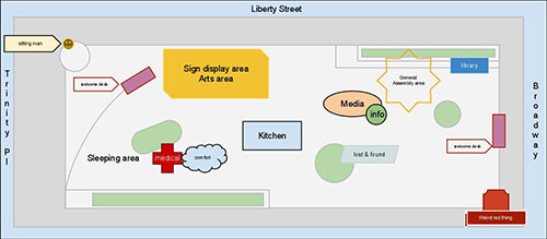 Liberty Square Layout